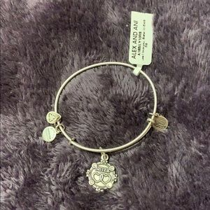 """Sister"" Alex and Ani Silver Bracelet- NWT"